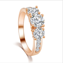Buy BONLAVIE New Fashion Luxury High Rose Gold Color/Silver Plated Cubic Zirconia Ring Engagement Jewelry Women for $1.32 in AliExpress store