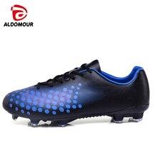 ALDOMOUR 2018 Soccer Shoes Sneakers Soccer Sports Men Centipede Football Indoor Soccer Kids Football Shoes Kid Shoes Sport LYT