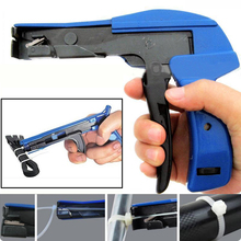 Nylon Cable Tie Gun Tool Installation Zip Tensioning Fastener Tool For Plastic Nylon Zip Cutting