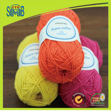 Jingxing, free shipping shanghai hand craft yarn factory huicai wholesale retail sale cotton acrylic blended yarn for knitting