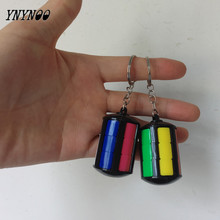 YNYNOO Mini Cubo 3x3x3 Magical Cube Keychain Cubes Devils Tower Blocks Pendants Puzzle Magic Cubes Learning Toys For Children