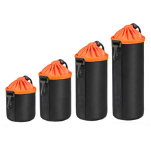 DSLR Camera Lens Bag Waterproof Padded Protector Camera Lens Bag Case Pouch for DSLR Nikon Canon Sony Lenses Bags