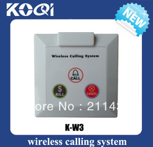 Bell / buzzer systems K-W3 CALL BILL CANCEL for wireless pager system buzzer install on the wall-mounted