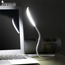 IMINOVO USB Eye Protection Lamp For PC Laptop Convenient For Reading Table Lamps Foldable Ultra Bright 1.2W Leds Nightlights