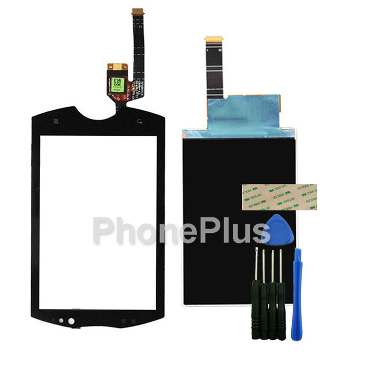 Touch Screen Glass Digitizer+LCD Screen Display Screen Adhesive Replacement For Sony Live with Walkman WT19 WT19i<br><br>Aliexpress