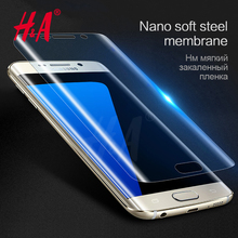 Buy H&A Samsung Galaxy S8 S8 plus Soft Screen protector Film Samsung S8 S7 edge Screen Protective  (Tempered Glass ) for $1.25 in AliExpress store