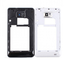New Arrival Middle Frame Housing Bezel With Side Button For Samsung Galaxy S2 i9100 Repair Replacement Parts