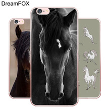 L186 Horse Series Soft TPU Silicone Case Cover For Apple iPhone X 8 7 6 6S Plus 5 5S SE 5C 4 4S(China)