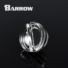 "Barrow G1 / 4 "" High Transmittance PMMA Acrylic Screw Down Sealing Plug Interface Water Cooling Computer Accessories YKLZS1-T01"