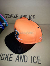 Wholesale,retail,HYBRID snapback hat cap ,orange,Gemini, free shipping,3D embroidery,cotton, square brim,top quality class,new