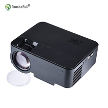 Portable LED Projector Box Compatible with PC Notebook USB / SD / AV / HDMI 1080P Input Video Movie Party Outdoor Family Theater