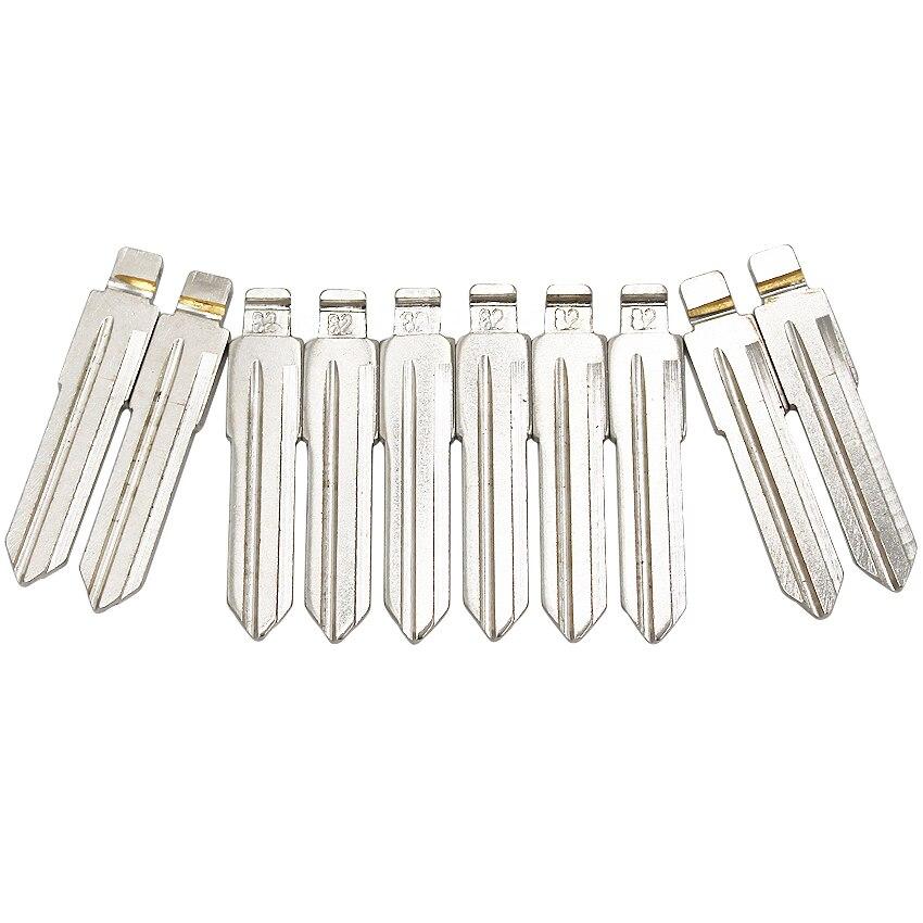5PCS//lot Universal Flip HU46 Key Blade 82# Car Key Blank For Vauxhall Opel