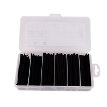 170Pcs Assortment Polyolefin Halogen-Free 2:1 Heat Shrink Tubing Wrap Electrical Cable Sleeving Wire Kit