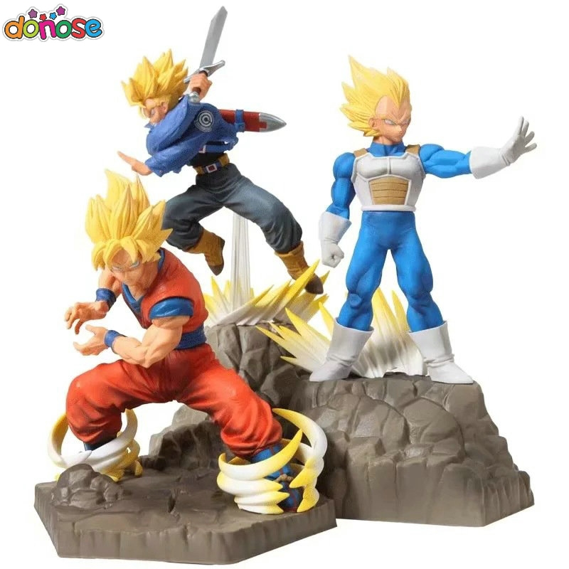 2019 new Dragon Ball Z Absolute Perfection Figure Goku Vegeta trunks figure SSJ Toy Model DBZ son gokou Figure
