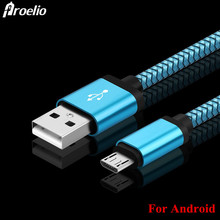 Buy Micro USB Cable 2A 1m Fast Charging Nylon USB Sync Data Mobile Phone Android Adapter Charger Cable Samsung Sony HTC LG Cable for $1.72 in AliExpress store