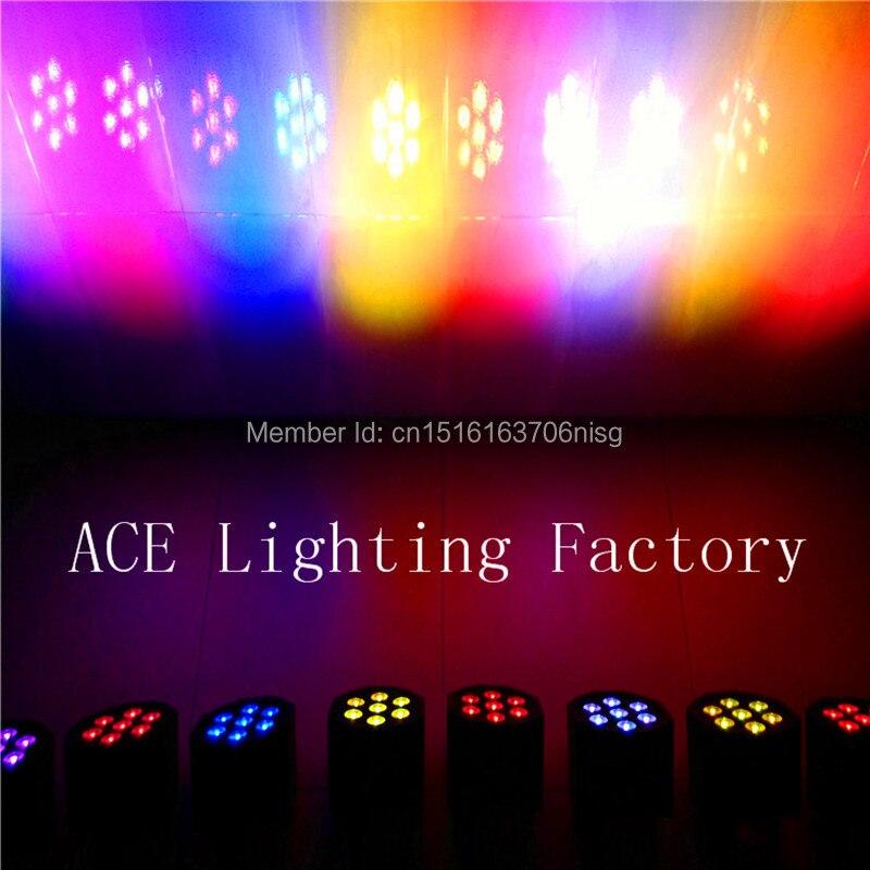 10pcs/lot good quality  dmx led par wash 7x12w rgbw 4IN1 led flat slim par led uplights chandelier<br>