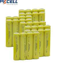30Pcs 1.2v AAA NiCd 400mAh Rechargeable Battery for Solar light Lamp(China)