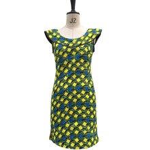 New Design Fashion Women African Print Dress African Printed Dresses Ladies  Costume Custom Made Dashiki African Clothing 83bef18628d7