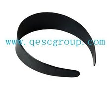 3.8cm PLASTIC HEADBAND in wholesale price (95pcs/lot),use for fascinator,black color.FREE SHIPPING.