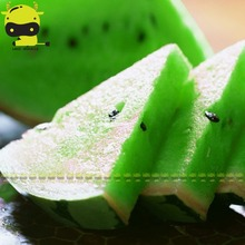 Rare Green Flesh Watermelon Seed, 5 Seeds/Pack, Edible Organic Water Melon NON GMO Vegetable Fruit Plants(China)
