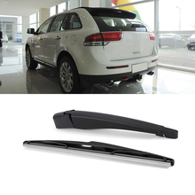 Rear Wiper Arm with Blade Complete For Lincoln MKX 2010-2013 OE:9T4Z-17526-A Black Rear Windscreen Wiper Blade Set