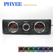 Detachable Panel Auto Radio Car Stereo Audio Bluetooth A2DP AM FM RDS USB SD AUX ISO Connector Remotes 1 Din In Dash