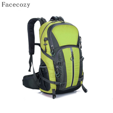 Buy Facecozy Outdoor Camping Wear Resistant 40L Backpack Mountaineering Hunting Travel Backpack Big Capacity Waterproof Sports Bag for $31.36 in AliExpress store