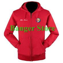 Alfa Romeo sweatshirts coat custom Alfa Romeo 4S shop hoodie jacket for men and women