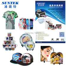 (50pcs/lot)A3 Size Dye Sublimation Paper with 100gsm Heat Transfer Paper Wholesale(China)