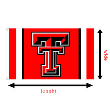 NCAA Big 12 football university of Texas Tech Red Raiders College race flying flag printed 3X5FT banners