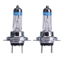 Novalty 2 x H7 12V Automobile Halogen Foglights 55W Warm White 4300K-5000K High Quality Free Shipping