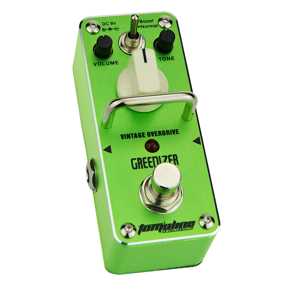 Tomsline AGR-3 GREENIZER Vintage overdrive Mini Analogue Effect True Bypass AROMA<br>