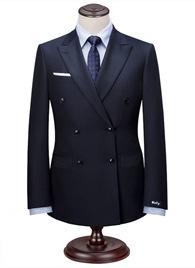 HTB1GcgTRFXXXXXxXpXXq6xXFXXXS - Custom Made Men's Wedding Suits Groom Tuxedos Jacket+Pant+Tie Formal Suits Business Causal Slim Navy Plaid Custom Suit Plus Size