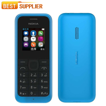 Original New Nokia 105 Dual SIM Mobile Phone Free Shipping