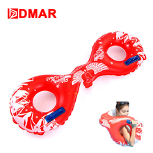 DMAR New Style Inflatable Pool Float Arm Swimming Ring Circle With Handles Lifejacket Women Men Inflatable Mattress Sea Pool Toy(China)