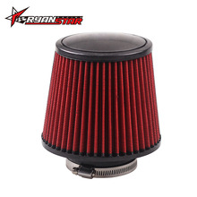 "RYANSTAR - Free shipping 3"" Air Filter 76mm Air Intake Filter 160mm Height High Flow Cone Cold Air Intake"