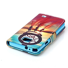 Luxury Wallet PU Leather Clamshell Flip Shell Back Cover&Card Holder Stand Cell Phone Cover Case For Samsung Galaxy I9082/I9100