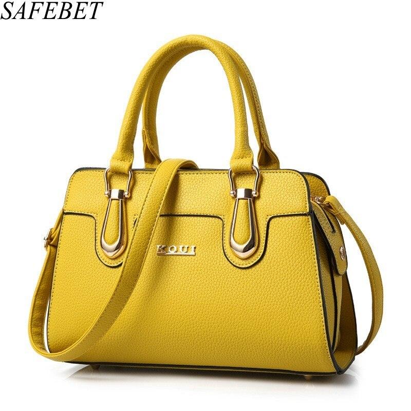 SAFEBET Brand Designer Trend High Quality PU Leather Women Bag Travel Portable Female Messenger Bags Ladies Fashion Shoulder Bag<br>
