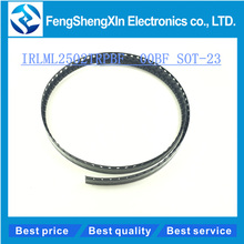 100PCS/lot NEW IRLML2502TRPBF IRLML2502 00BF SOT-23 Field effect tube MOSFET N channel(China)