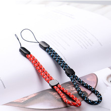 2pcs Universal Mini Hand Wrist Mobile Phone Straps Ring Pendant Cellphone Accessories Anti-slip Keychain Charm Cords
