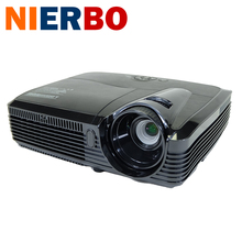 Full HD DLP Projector 7500 lumen 3D-ready High Quailty Video Digital 1080p Home Theater Best Image Native 1024x768 with HDMI VGA