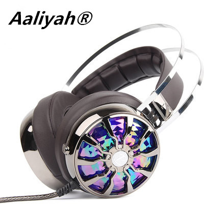 Aaliyah Gaming Headphones Super Bass Casque Gamer Pc Gaming Headset Light Vibration Headphones With Microphone For Computer<br><br>Aliexpress