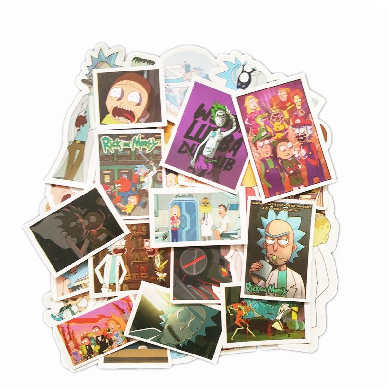 49Pcs R&M Stickers [ Pack of 3 ]