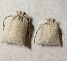 "JLB wholesale 5000pcs 10x14cm/3.9""x5.9"" Jute Burlap drawstring Favor Bags for candles handmade soap wedding"