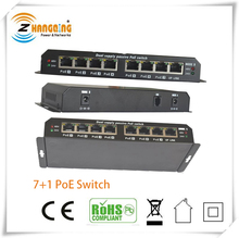 Dual Supply Passive PoE Switch 100Mbps Surge Protection PoE Switch For IP Camera VOIP Phone