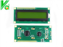FREE SHIPPING 10PCS/LOT LCD1602 LCD 1602  yellow   screen with backlight LCD display 1602A-5v