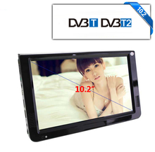 LEADSTAR HD Portable TV 10 Inch Digital Analog LED Televisions Support TF Card USB Audio Car Television DVB-T/T2 AC3 1280x800(China)