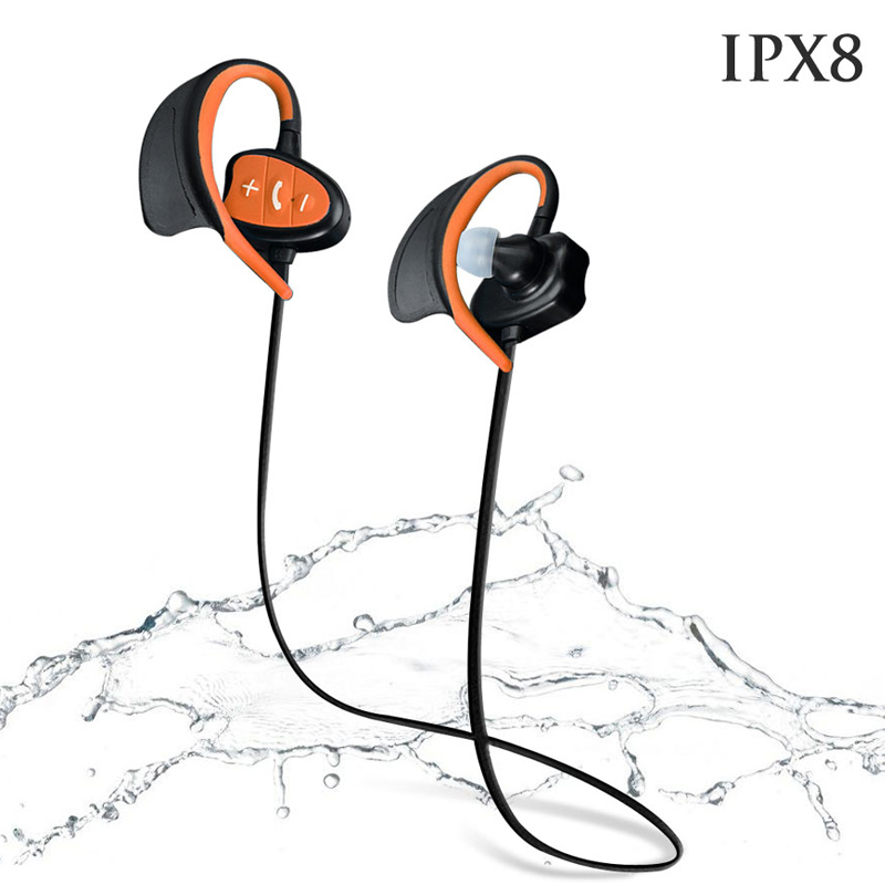 New Neckband Bluetooth Sports Headphones IPX8 Super Waterproof Swimming Headphone Stereo Headset with Micphone for xiaomi iphone<br><br>Aliexpress