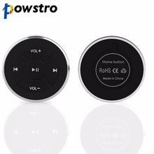 Wireless Bluetooth Media Button Remote Controller Car Motorcycle Bike Steering Wheel MP3 Music Play for Android iOS Phone Tablet