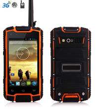 original DG1 IP68 Rugged Waterproof Phone Android Shockproof Small Smartphone MTK6582 Quad Core GPS UHF Radio Walkie Talkie 3G(China)